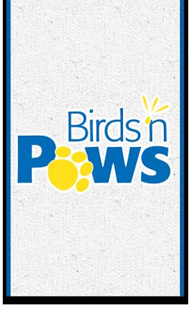 Birds and Paws logo
